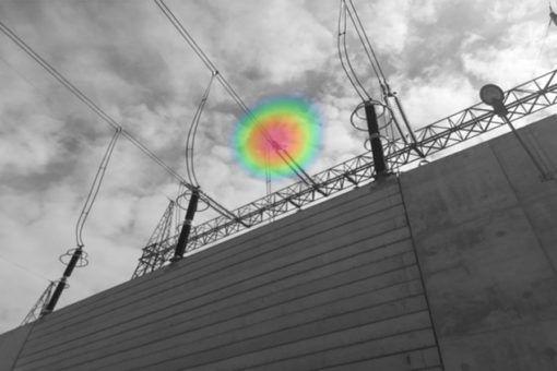 FLIR si124 Acoustic Imaging Power Line Inspection