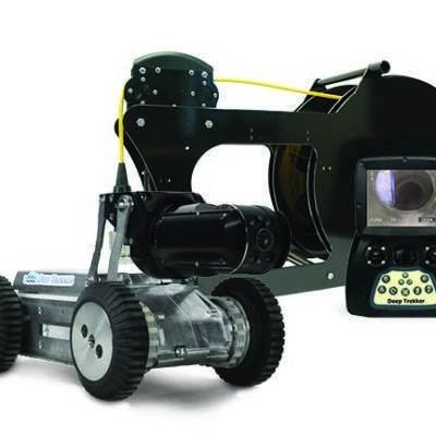 DT320 Mini Pipe Crawler with Tether