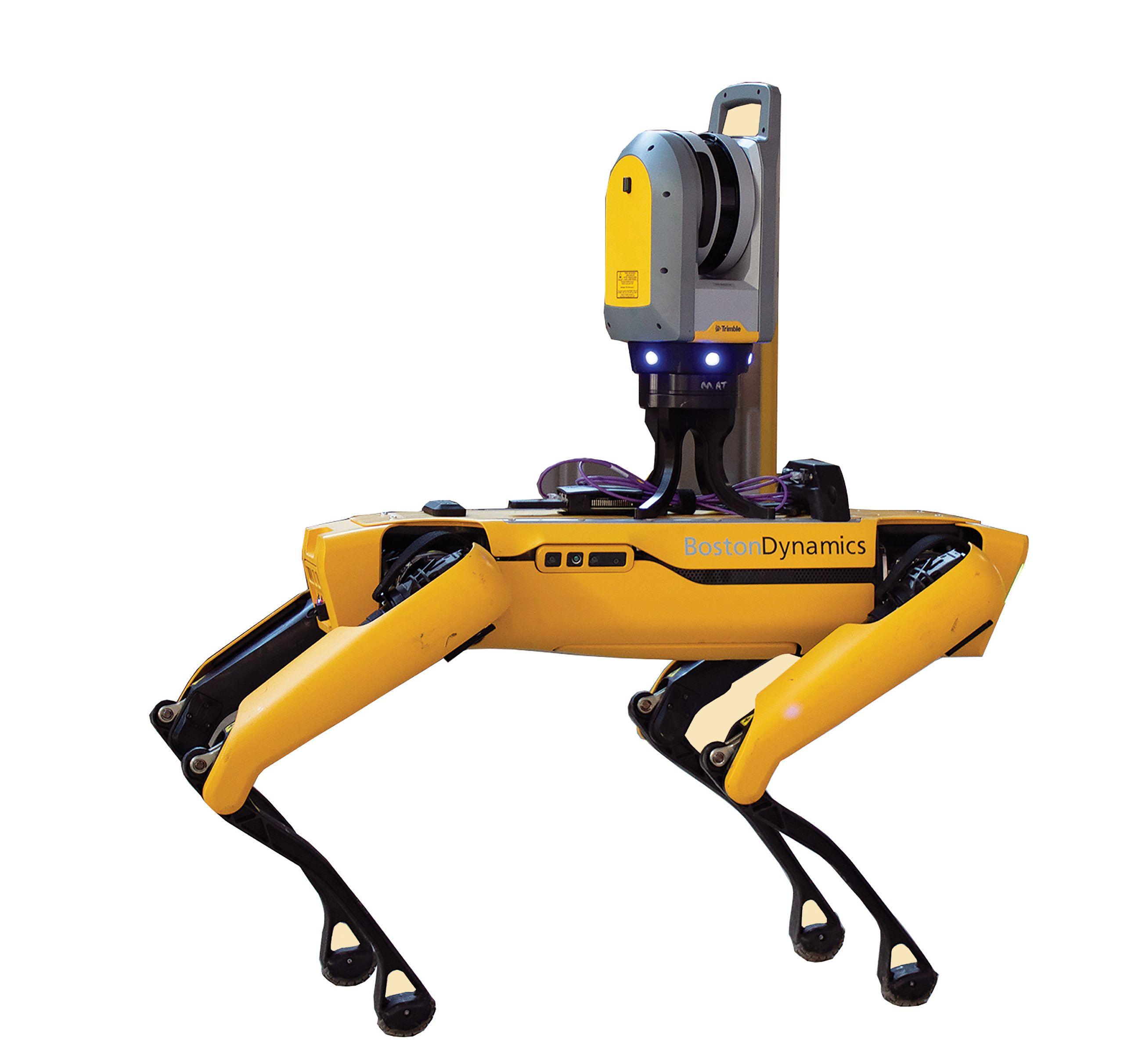 Trimble X7 on Spot Robotics