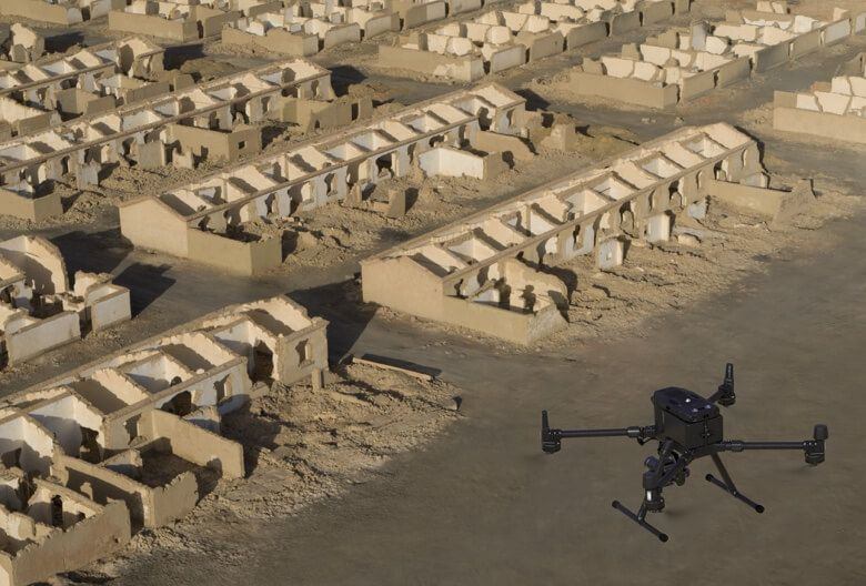 DJI Drone Payload Zenmuse P1  Aerial Photogrammetry