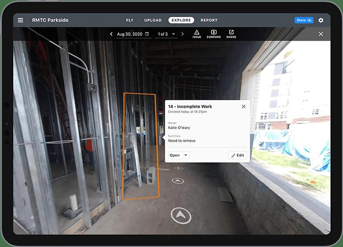 DroneDeploy Virtual Walk Through